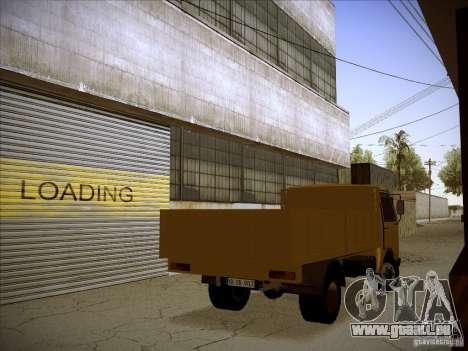 Volkswagen LT-55 pour GTA San Andreas vue intérieure