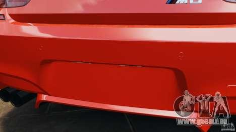 BMW M6 F13 2013 v1.0 pour GTA 4 Salon