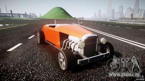 Hot Rod pour GTA 4 Vue arrière