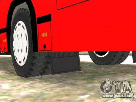 MAZ-5295 v2. 0 final für GTA 4 Unteransicht