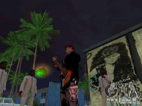 Wand der Erinnerung George Hoey für GTA San Andreas her Screenshot