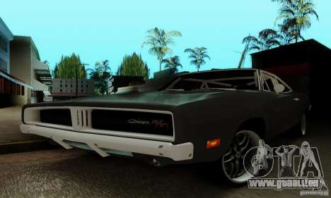 Dodge Charger RT für GTA San Andreas obere Ansicht