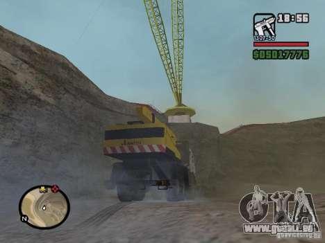 KAMAZ UDS für GTA San Andreas rechten Ansicht
