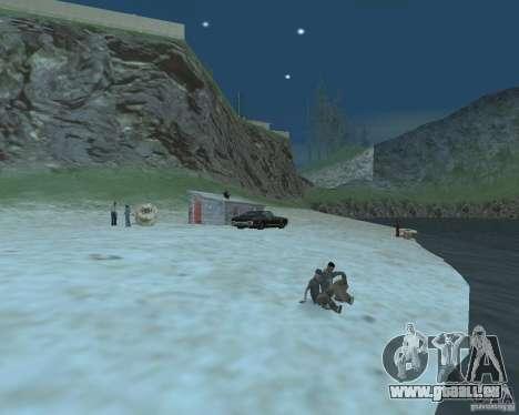 Der lebhafte Strand der Palomino Creek für GTA San Andreas