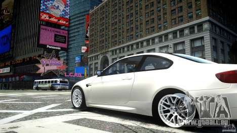 BMW M3 GT-S für GTA 4 Rückansicht
