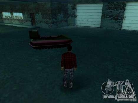 Véhicules neufs autour de l'État pour GTA San Andreas troisième écran