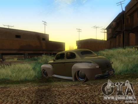 Ford Coupe 1946 Mild Custom pour GTA San Andreas laissé vue
