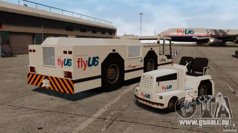FlyUS Tugs Pack für GTA 4 rechte Ansicht