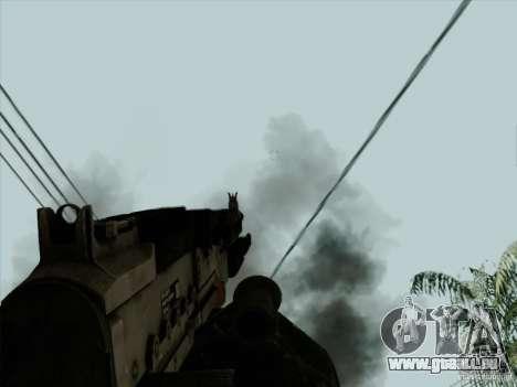M240B pour GTA San Andreas cinquième écran
