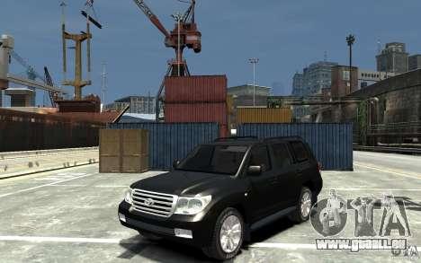 Toyota Land Cruiser 200 pour GTA 4