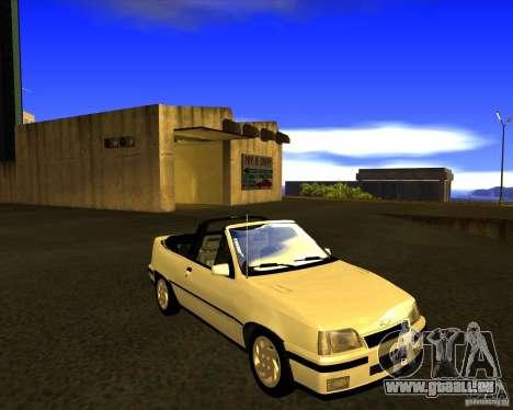Chevrolet Kadett GSI 2.0 Conversivel (1991-1995) für GTA San Andreas Rückansicht