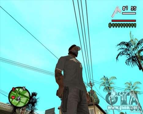 Desert Eagle HD pour GTA San Andreas deuxième écran