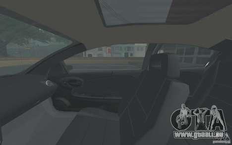 Saturn Ion Quad Coupe pour GTA San Andreas vue de dessus
