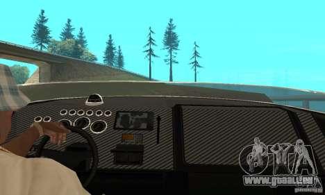 GTAIV TBOGT Blade pour GTA San Andreas vue arrière