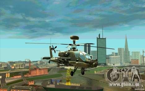 Apache AH64D Longbow pour GTA San Andreas