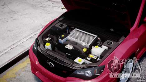 Subaru Impreza WRX STi 2011 für GTA 4 Innenansicht