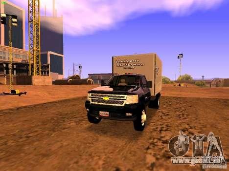 Chevrolet Silverado HD 3500 2012 für GTA San Andreas
