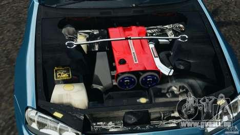 Nissan Skyline GT-R R34 2002 v1.0 pour GTA 4 vue de dessus