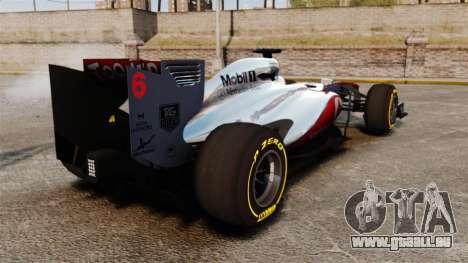 McLaren MP4-28 pour GTA 4 est un droit
