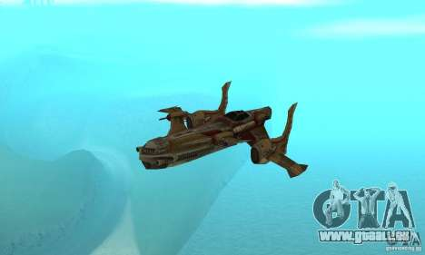Hydra TimeShift Skin 1 pour GTA San Andreas vue intérieure