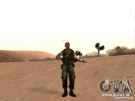 Commando russe pour GTA San Andreas deuxième écran