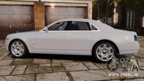 Rolls-Royce Ghost 2012 pour GTA 4 est une gauche