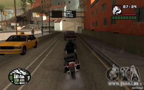Blackwatch de Prototype pour GTA San Andreas quatrième écran