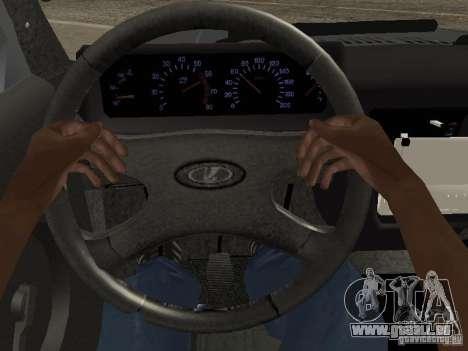 VAZ 21214 Niva für GTA San Andreas Innenansicht