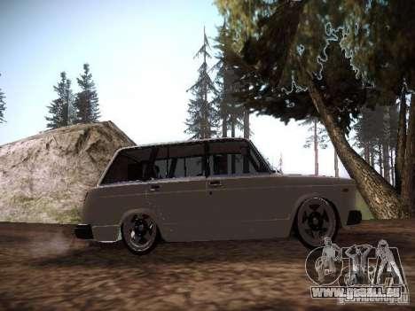 VAZ 2104 Air pour GTA San Andreas vue arrière