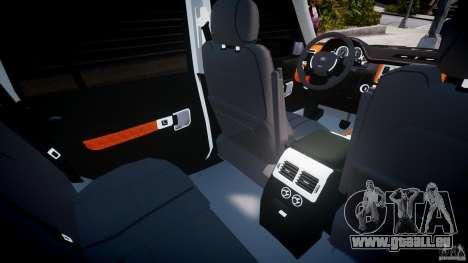 Range Rover Supercharged 2009 v2.0 für GTA 4 Unteransicht