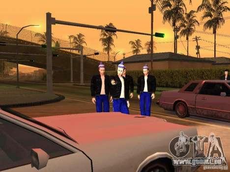 Skins Gopnik für GTA San Andreas dritten Screenshot