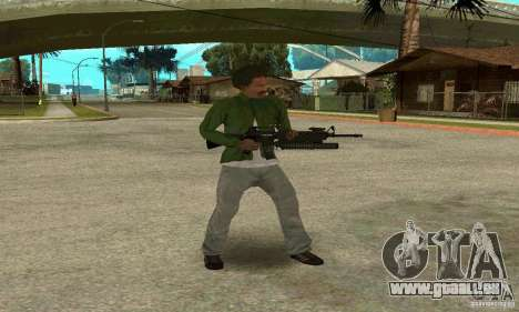 M16A4 + M203 für GTA San Andreas her Screenshot