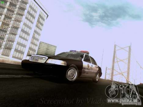 Ford Crown Victoria Los Angeles Police für GTA San Andreas linke Ansicht