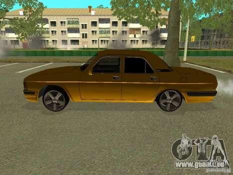 GAZ Volga 3102 für GTA San Andreas linke Ansicht