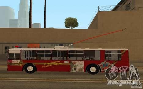 ZiU 682 pour GTA San Andreas laissé vue