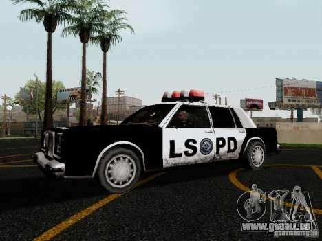 Greenwood Police LS für GTA San Andreas linke Ansicht