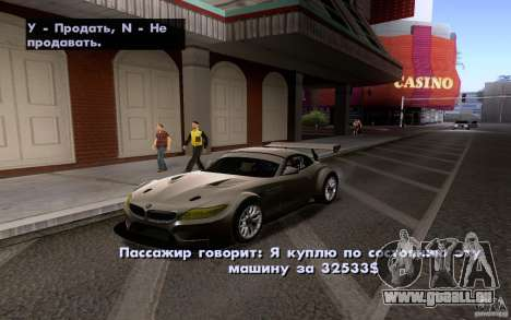 Classic Cars For Sale sur pour GTA San Andreas deuxième écran