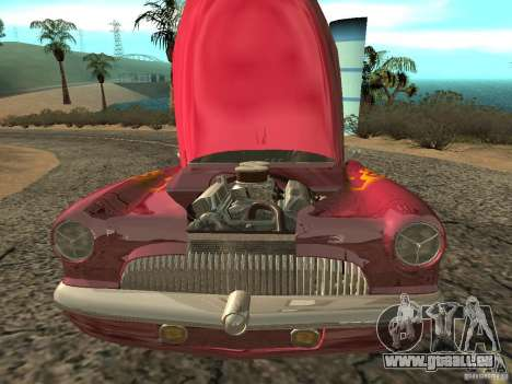 Buick Custom 1950 LowRider 1.0 pour GTA San Andreas vue intérieure
