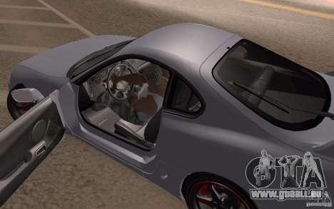 Toyota Supra Mark IV für GTA San Andreas Rückansicht