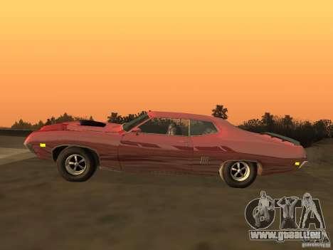 Ford Torino Cobra 1970 Tunable pour GTA San Andreas laissé vue