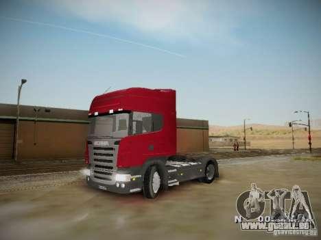 Scania R580 Topline pour GTA San Andreas