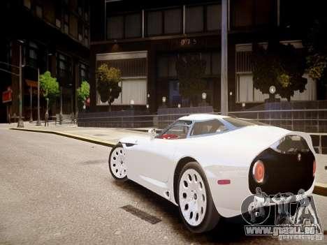 Alfa Romeo TZ3 Stradale Zagato für GTA 4 hinten links Ansicht
