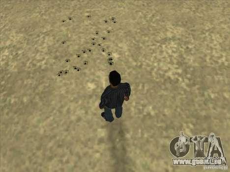 Löcher von Kugeln für GTA San Andreas