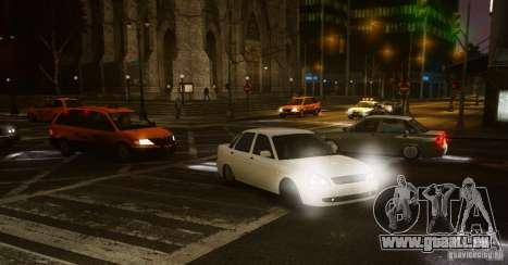 Lada Priora Dag Style pour GTA 4 Vue arrière de la gauche