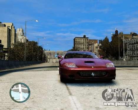 Ferrari 575M Maranello 2002 pour GTA 4 Vue arrière de la gauche