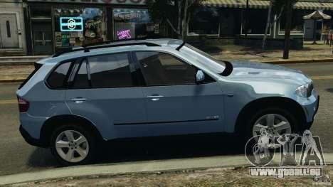 BMW X5 xDrive30i für GTA 4 linke Ansicht