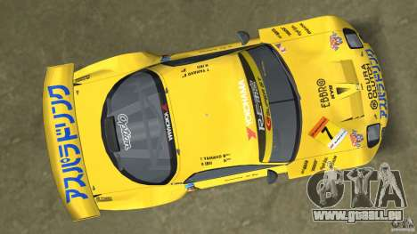 Mazda Re-Amemiya RX7 FD3S Super GT für GTA Vice City Rückansicht