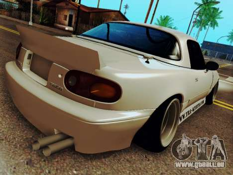 Mazda MX-5 Miata Rocket Bunny pour GTA San Andreas laissé vue
