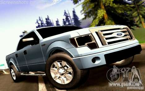 Ford Lobo 2012 pour GTA San Andreas