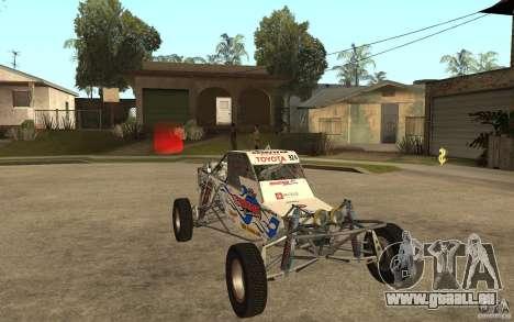 CORR Super Buggy 2 (Hawley) pour GTA San Andreas vue arrière
